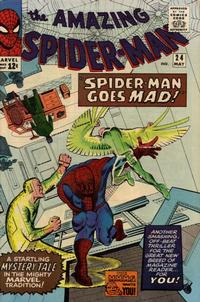 Cover Thumbnail for The Amazing Spider-Man (Marvel, 1963 series) #24