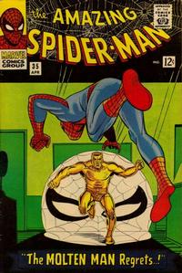 Cover Thumbnail for The Amazing Spider-Man (Marvel, 1963 series) #35 [Regular Edition]