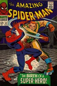 Cover Thumbnail for The Amazing Spider-Man (Marvel, 1963 series) #42