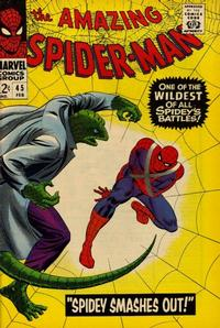 Cover Thumbnail for The Amazing Spider-Man (Marvel, 1963 series) #45 [Regular Edition]