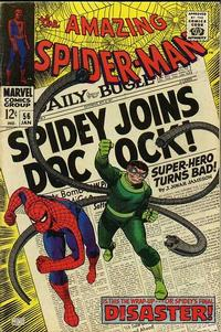 Cover Thumbnail for The Amazing Spider-Man (Marvel, 1963 series) #56
