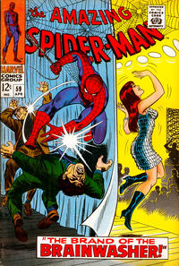 Cover Thumbnail for The Amazing Spider-Man (Marvel, 1963 series) #59