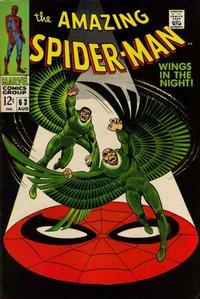 Cover Thumbnail for The Amazing Spider-Man (Marvel, 1963 series) #63