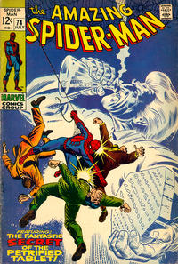 Cover Thumbnail for The Amazing Spider-Man (Marvel, 1963 series) #74
