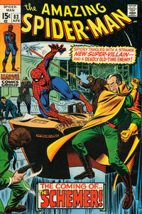 Cover Thumbnail for The Amazing Spider-Man (Marvel, 1963 series) #83 [Regular Edition]