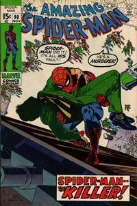 Cover Thumbnail for The Amazing Spider-Man (Marvel, 1963 series) #90 [Regular Edition]