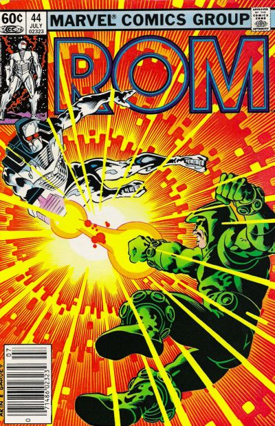 Cover for ROM (Marvel, 1979 series) #44 [Direct Edition]
