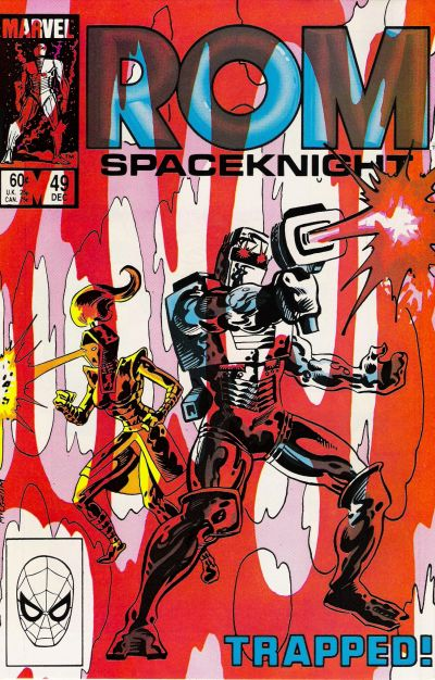 Cover for ROM (Marvel, 1979 series) #49