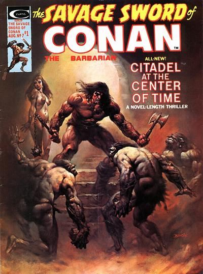 Cover for The Savage Sword of Conan (1974 series) #7
