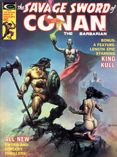 Cover for The Savage Sword of Conan (1974 series) #9