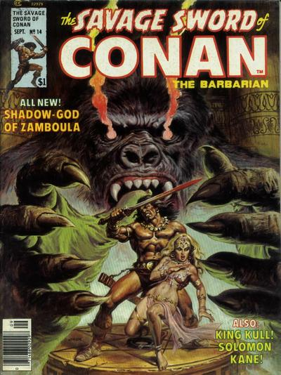 Cover for The Savage Sword of Conan (1974 series) #14