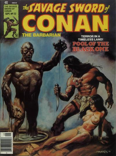 Cover for The Savage Sword of Conan (1974 series) #22