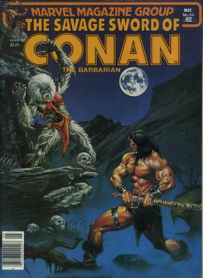 Cover for The Savage Sword of Conan (Marvel, 1974 series) #64