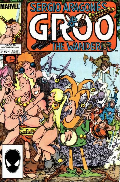 Cover for Sergio Aragonés Groo the Wanderer (1985 series) #10
