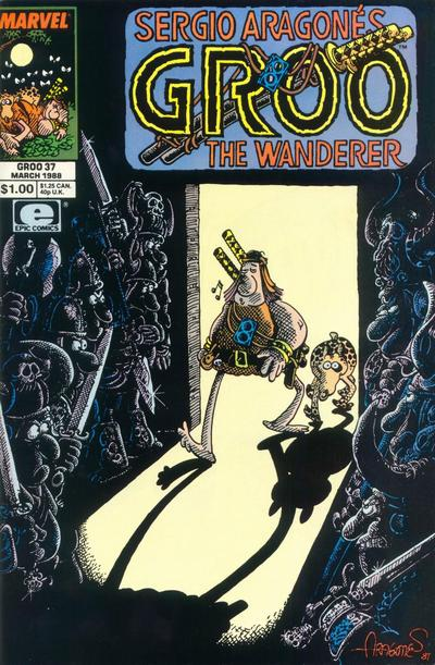 Cover for Sergio Aragonés Groo the Wanderer (Marvel, 1985 series) #37