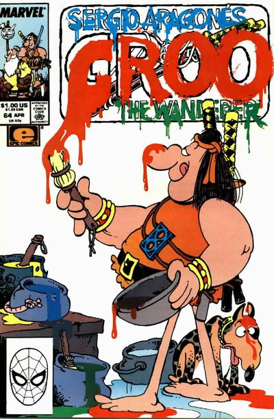 Cover for Sergio Aragonés Groo the Wanderer (Marvel, 1985 series) #64