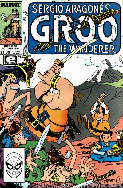 Cover for Sergio Aragonés Groo the Wanderer (Marvel, 1985 series) #70