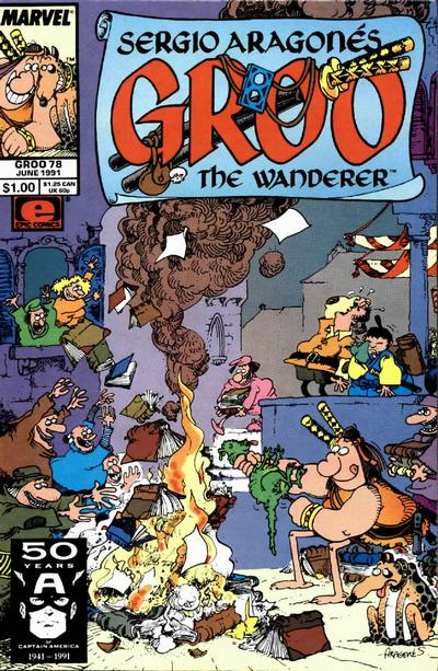 Cover for Sergio Aragonés Groo the Wanderer (Marvel, 1985 series) #78
