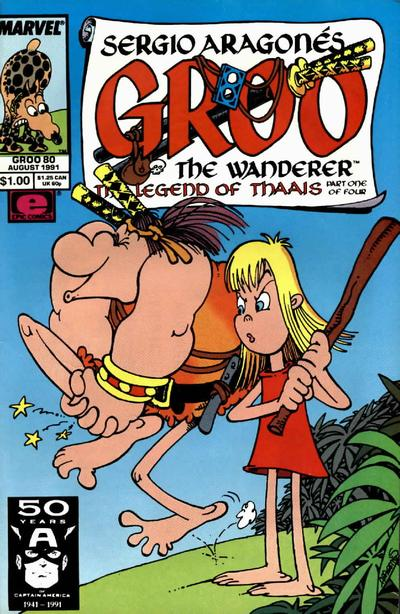 Cover for Sergio Aragonés Groo the Wanderer (1985 series) #80
