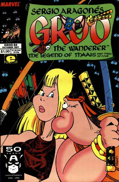 Cover for Sergio Aragonés Groo the Wanderer (1985 series) #82