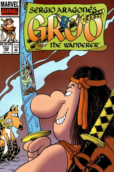 Cover for Sergio Aragonés Groo the Wanderer (Marvel, 1985 series) #102