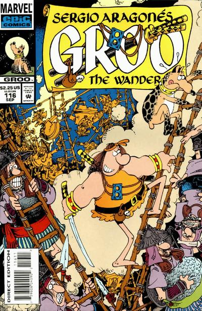 Cover for Sergio Aragonés Groo the Wanderer (Marvel, 1985 series) #116