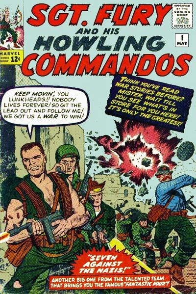 Cover for Sgt. Fury (1963 series) #1