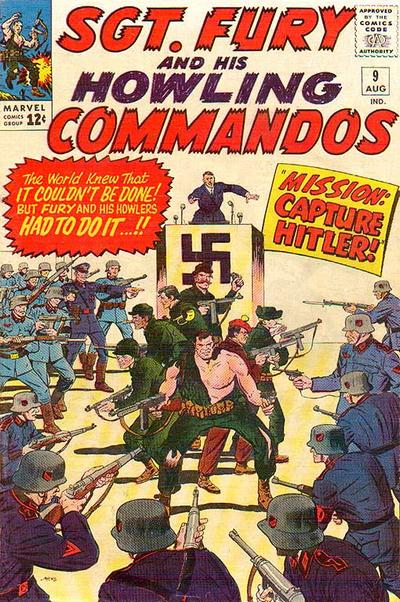 Cover for Sgt. Fury (1963 series) #9
