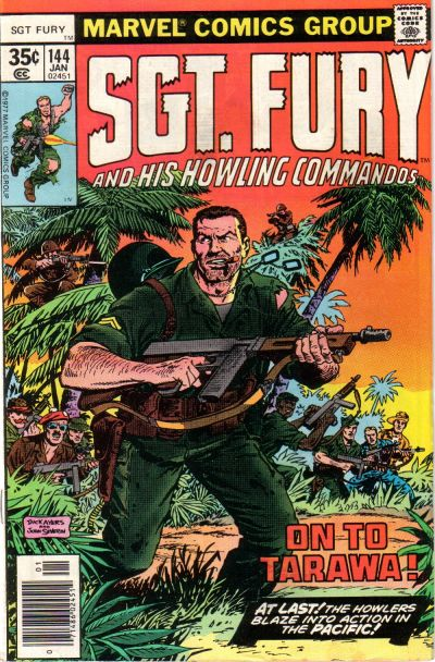 Cover for Sgt. Fury and His Howling Commandos (Marvel, 1974 series) #144