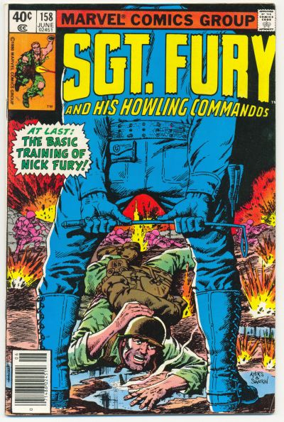 Cover for Sgt. Fury and His Howling Commandos (1974 series) #158