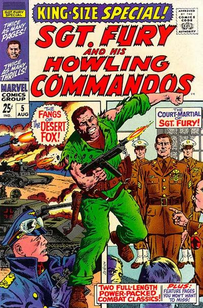 Cover for Sgt. Fury Annual (Marvel, 1965 series) #5