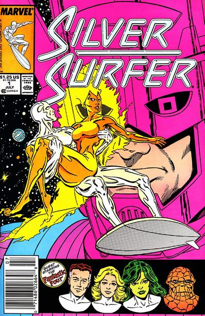 Cover for Silver Surfer (Marvel, 1987 series) #1