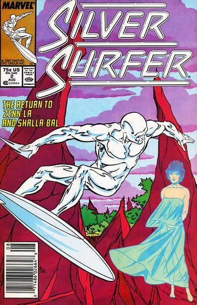 Cover for Silver Surfer (1987 series) #2