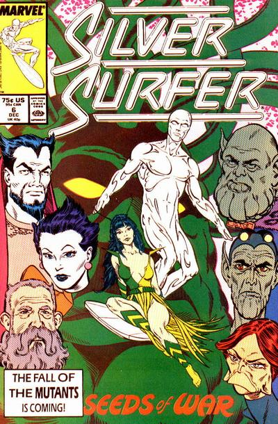 Cover for Silver Surfer (Marvel, 1987 series) #6