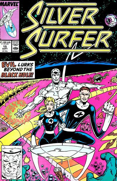 Cover for Silver Surfer (1987 series) #15
