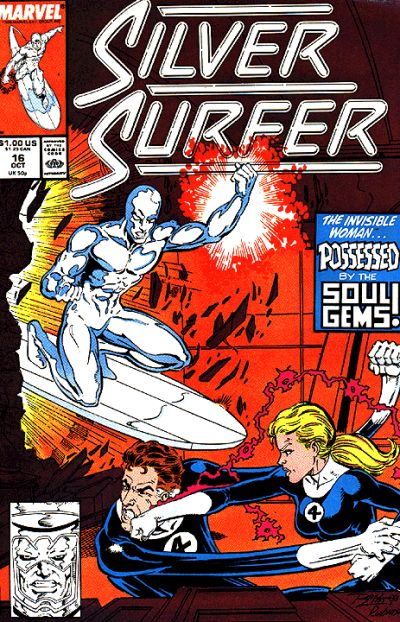 Cover for Silver Surfer (Marvel, 1987 series) #16