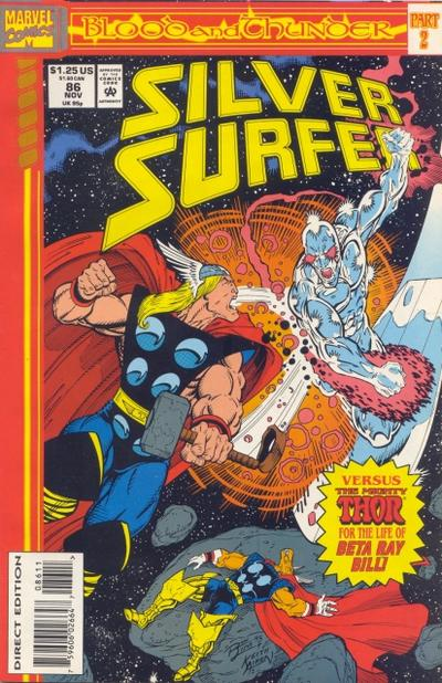 Cover for Silver Surfer (1987 series) #86