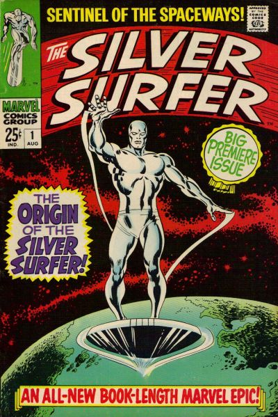 Cover for The Silver Surfer (Marvel, 1968 series) #1