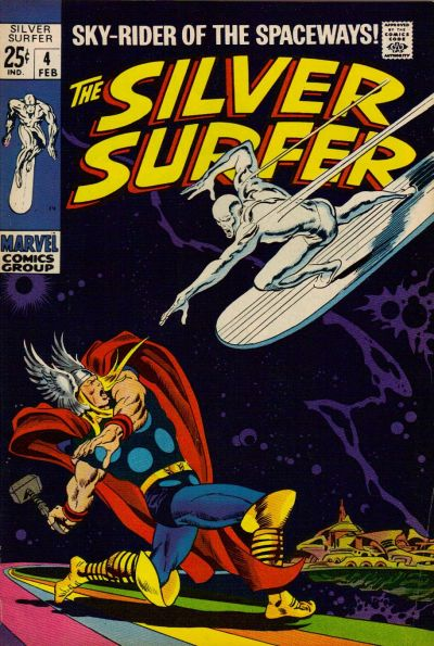 Cover for The Silver Surfer (Marvel, 1968 series) #4