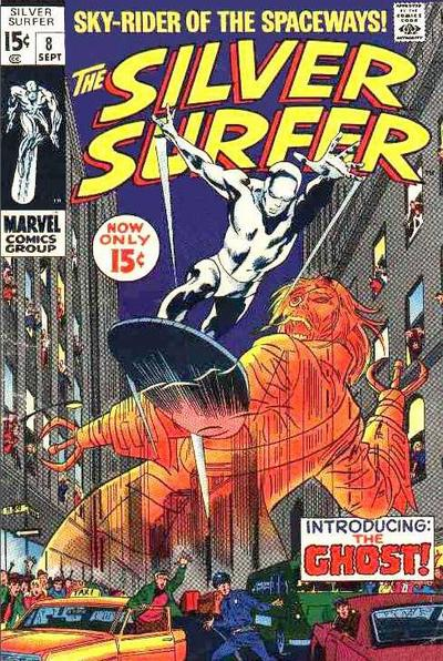 Cover for The Silver Surfer (1968 series) #8
