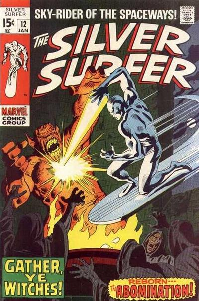 Cover for The Silver Surfer (Marvel, 1968 series) #12 [UK Price Variant]
