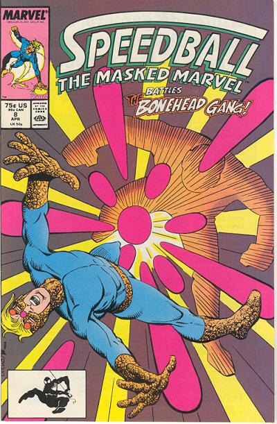 Cover for Speedball (Marvel, 1988 series) #8