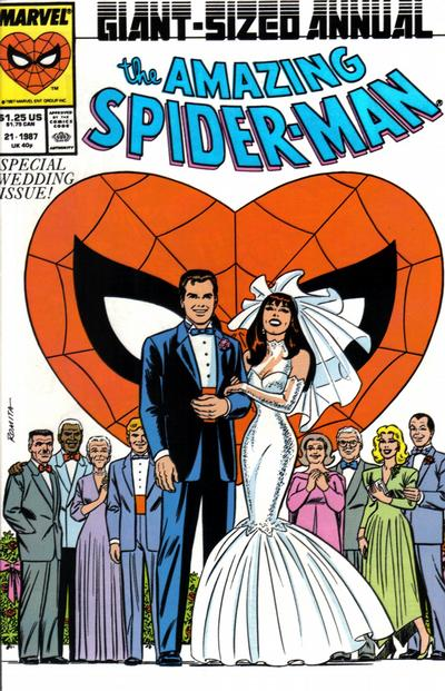 Cover for The Amazing Spider-Man Annual (1964 series) #21 [Spider-Man variant]