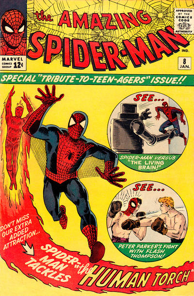 Cover for The Amazing Spider-Man (1963 series) #8