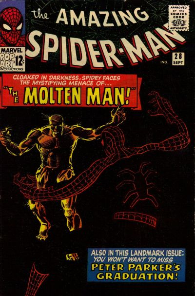 Cover for The Amazing Spider-Man (1963 series) #28