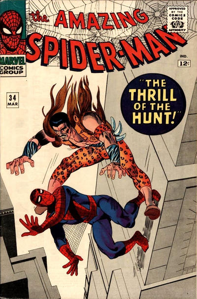 Cover for The Amazing Spider-Man (Marvel, 1963 series) #34