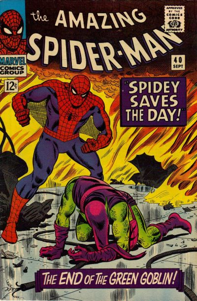 Cover for The Amazing Spider-Man (Marvel, 1963 series) #40