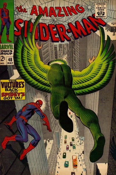 Cover for The Amazing Spider-Man (Marvel, 1963 series) #48