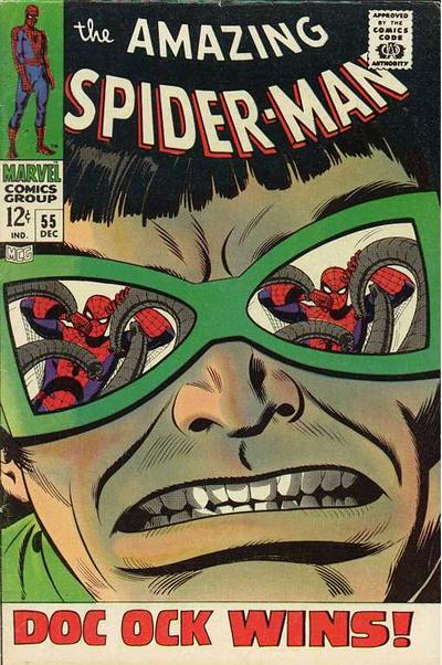 Cover for The Amazing Spider-Man (Marvel, 1963 series) #55