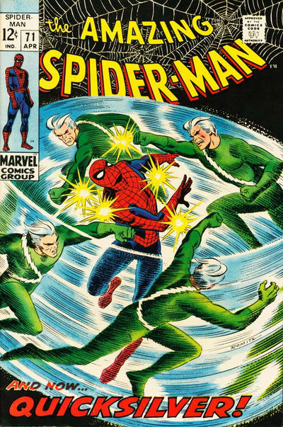 Cover for The Amazing Spider-Man (Marvel, 1963 series) #71 [Regular Edition]